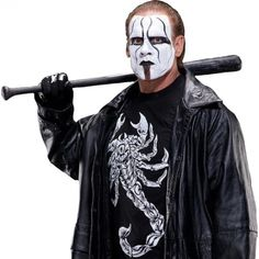 Sting had a legendary run in WCW, winning the World Heavyweight Championship in Ted Turner's now defunct promotion on six occasions. Description from sportsworldnews.com. I searched for this on bing.com/images