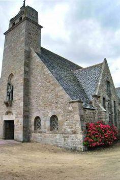 Chapelle Sainte-Anne à Kerfissien .Cléder. Finistère. Bretagne
