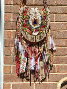 Handmade Ibiza Festival Gypsy Fringe CrossBody Bag Tapestry BohoHobo Purse B.Joy | Clothing, Shoes & Accessories, Women's Handbags & Bags, Handbags & Purses | eBay!