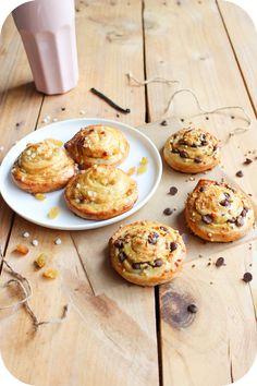 Escargots raisins ou pépites de chocolat (1)
