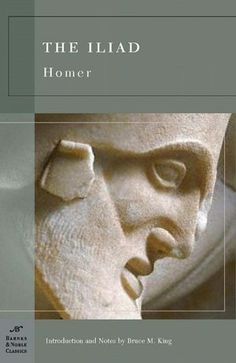 """The Illiad"" by Homer (Barnes & Noble Classic Series) Loved it. Always been my favorite."