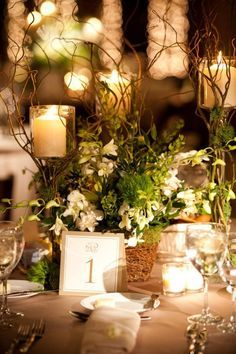 Midsummer night's dream table decorations - Google Search