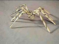 DIY Money Origami - Money Spider - Step by Step Tutorials for Star, Flower, Heart, Buttlerfly, Animals. Tree, Letters, Bow and Boxes - Cute DIY Gift Ideas for Birthday and Christmas Cards - DIY Projects and Crafts for Teens http://diyprojectsforteens.com/diy-money-origami