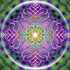 Explore amazing art and photography and share your own visual inspiration! Catholic Archangels, Seven Archangels, Fractal Design, Fractal Art, Fractals, Magic Symbols, Ancient Symbols, Mandala Pattern, Mandala Art