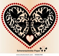papel picado heart