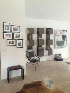 Showcase no. 1 bookcases in Danish home