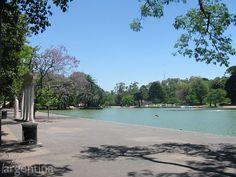 Parque Independencia en Rosario, Santa Fe.