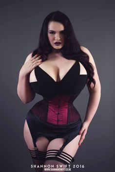 """waist training reduced down to 20"""" for this shoot, and, she has maintained this size waist and loves her waist. well done darling."""