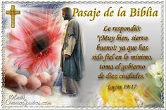 Vidas Santas: Santo Evangelio según san Lucas 19:17