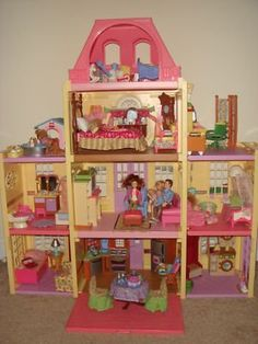 Playing With Your Doll House Find This Pin And More On Fisher Price Loving Family