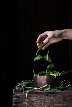 Espinacas, spinach,