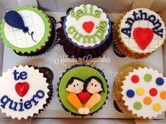 Cupcakes cargaditos de amor