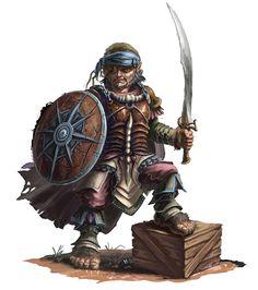 Halfling hobbit pirate