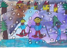 """Így síeltem"" - rajzpályázatunk nyertesei Princess Peach, Smurfs, Kids Rugs, Snow, Fictional Characters, Google, Decor, Goblin, Decoration"