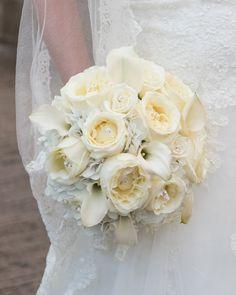 Wedding Flowers   Bridal Bouquets   Centerpieces   Flowers #gardenrose #callalily #hydrangea #thewestinwashingtondullesairport
