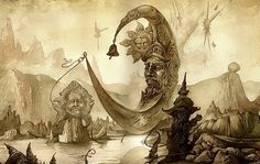 Surreal artwork by Yuri Laptev - Beauty will save