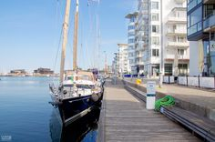 The marina in Helsingborg, Sweden | Cruising Attitude Sailing Blog - Discovery…