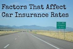 Car insurance rates can vary drastically by person. Learn what factors affect car insurance rates. Health Insurance Cost, Term Life Insurance, Car Insurance Rates, Cheap Car Insurance, Insurance Quotes, Safety Classes, Going On Holiday, Factors, How To Find Out