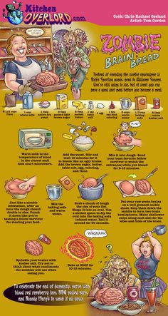 1000 Images About Illustrated Geek Recipes On Pinterest