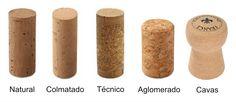 Blog Verema. #taponescorcho #taponesalternativos. Tipologias y características de los tapones de corcho y sus competidores (sintéticos y rosca).