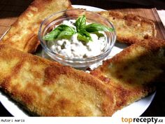 Smažený lilek Ethnic Recipes, Food, Essen, Meals, Yemek, Eten