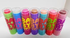 Baby lips colors&flavors! By Maybelline