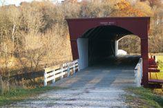 Roseman Covered Bridge - Bridges of Madison County in Winterset, IA
