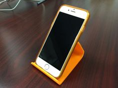 Universal Smartphone Stand by auralgasm - Thingiverse