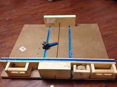 Super accurate crosscut sled - by DaveFFMedic @ LumberJocks.com ~ woodworking community