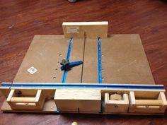 Super accurate crosscut sled - by DaveFFMedic @ LumberJocks.com ~ woodworking community