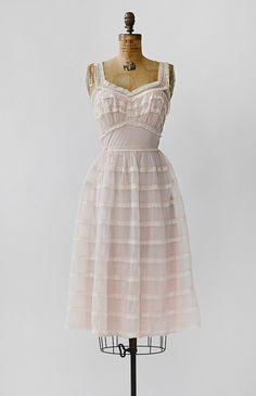 Feminine Charms Slip / vintage 1950s slip from Adored Vintage