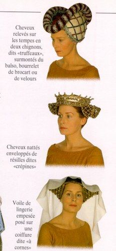 The one thing that annoys me about most fantasy in films & books is that despite being based on traditional European culture the people rarely wear headgear! Medieval Hats, Medieval Costume, Medieval Dress, Medieval Clothing, Historical Costume, Historical Clothing, Hennin, Costume Carnaval, Medieval Hairstyles