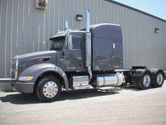 25 For Sale , 386 Peterbilt Tractor Truck W/ Sleeper. Diesel Cars, Diesel Engine, Diesel Vehicles, Peterbilt 386, Peterbilt Trucks, Semi Trucks, Military Vehicles, Tractors, Buses