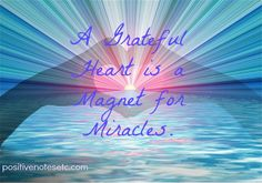 Gratitude places you in the energy field of plentitude. Perceiving life in a consciousness of gratitude is literally stepping into another dimension of living. Suddenly the seeming ordinariness of your days takes on a divine sparkle. -Michael Beckwith