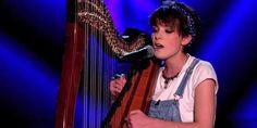"""La meilleure reprise (à la harpe) de """"Get Lucky"""""""