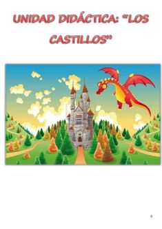Dragon and Castle Kids Wall Murals, Murals For Kids, Princess Mural, Cartoon Trees, A Funny, Make It Simple, Fairy Tales, Reyes, Whimsical