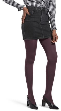 HUE Luster Tights - See more tights at www.fashion-tights.net #tights #pantyhose #hosiery #nylons #fashion #legs #legwear #advertising #influencer #collants