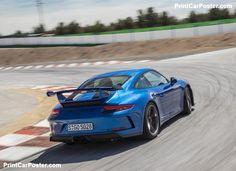 Porsche 911 GT3 2018 poster, #poster, #mousepad, #tshirt, #printcarposter My Dream Car, Dream Cars, Car Posters, Poster Poster, Porsche 911 Gt3, Carrera, Vehicles, Sports, Phase 2
