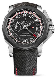 Corum Admiral's Cup Seafender 44 Chrono Centro #luxurywatch #Corum-swiss Corum Swiss Watchmakers watches #horlogerie @calibrelondon