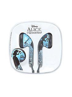 Disney Alice In Wonderland Earbuds,