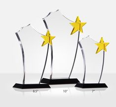 With a gold star shinning atop of a distinct sail-shaped plaque, this unique crystal gold star award is perfect to recognize outstanding efforts and achievement. Crystal Awards, Recognition Awards, Star Awards, Gold Stars, Crystals, Woodworking, Meme, Crystal, Carpentry