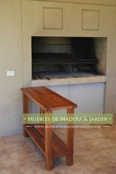 Muebles para jard n de palets ideas con palets for Mesa apoyo cocina