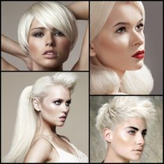 Hair Color Inspiration and Formulation: Perfect Platinum | StyleNoted