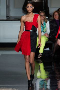This would be a great Harley Quinn dress! 15 Date-Night Outfit Ideas From Fall 2013 New York Fashion Week