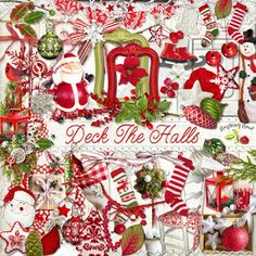 Cute Deck The Halls Two Set Collection with a free add on...