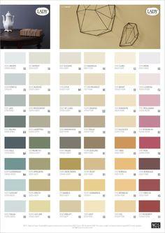 LADY Våra vackraste kulörer Färgkarta by Jotun Sverige AB - issuu Colorful Interior Design, Room Interior Design, Home Interior, Colorful Interiors, Flat Color Palette, Colour Pallete, Wall Paint Colors, Paint Colors For Living Room, Jotun Paint