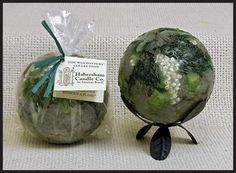Wax Pottery Spheres