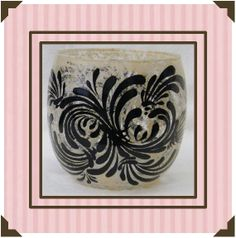 Black Strokes with Tan Background  Hand by KeepsakesbySharron, $10.00