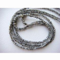 Grey Rough Diamonds Grey Raw Diamonds Conflict by gemsforjewels