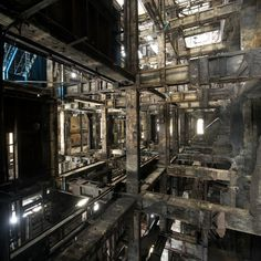 Industrial Abandoned - Romany WG  #Architecture #Postapocalyptic